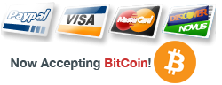 Visa, Mastercard, PayPal and Now Accepting BitCoin